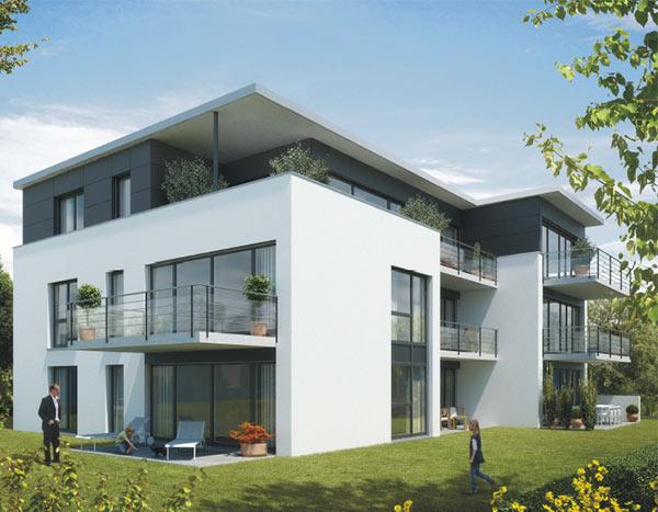 Referenzen Mehrfamilienhaus in Holzgerlingen bei Böblingen